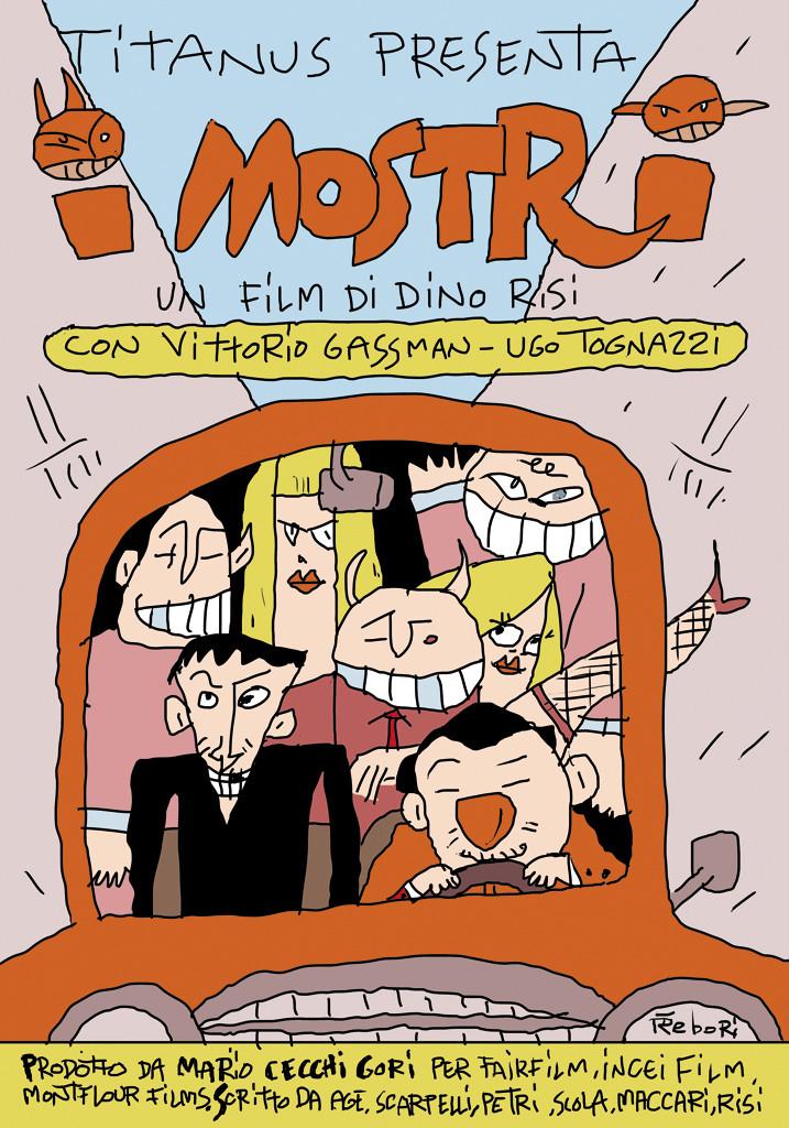 I mostri - Alberto Rebori