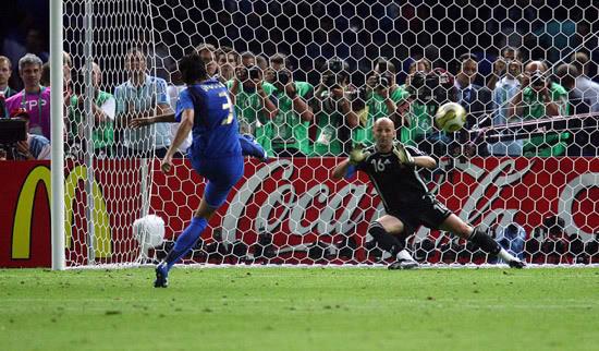 Grosso a segno nella finale con la Francia a Berlino
