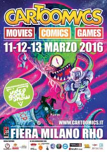 MANIFESTO CARTOOMICS 2016