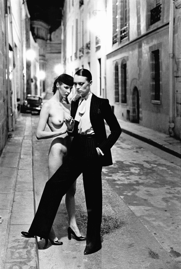 Rue Aubriot from the series White Women Paris 1975 © Helmut Newton Estate