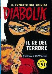 Copertina del rarissimo n. 1 1962 -Diabolik-¬Astorina srl