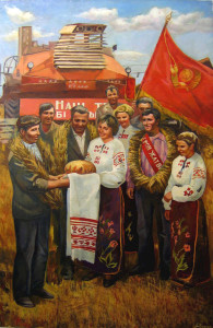 Cernov Anatoli Mikhailovich, Festa del grano, anni 80