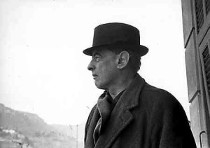 Witold Gombrowicz. Vence, 1966. Fot. Bohdan Paczowski.