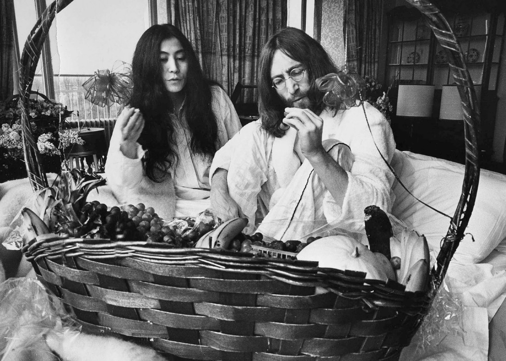 Yoko Ono & John Lennon, Bed-ins for Peace, 1969