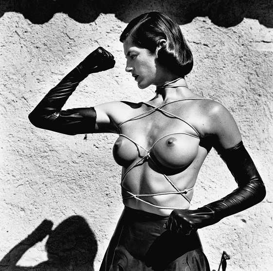 Tied Up Torso from the series Big Nudes Ramatuelle 1980 © Helmut Newton Estate