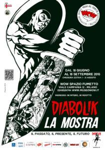 manifesto mostra DIABOLIK