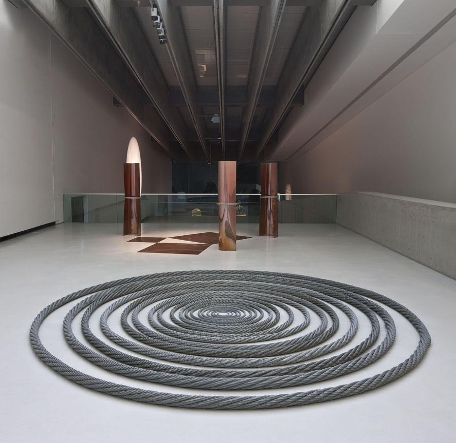 Remo Salvadori, Continuo infinito presente, 1984-2004. Foto Agostino Osio
