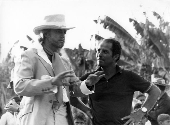 Con Brando sul set di Queimada