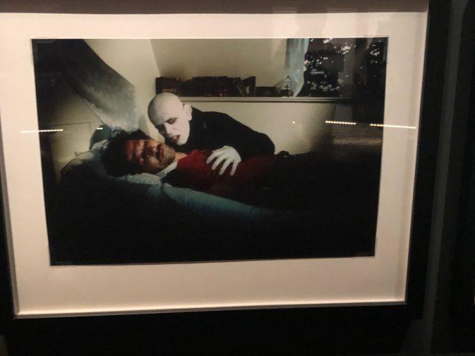 Werner Herzog e Klaus Kinski, backstage di Nosferatu, foto redazione